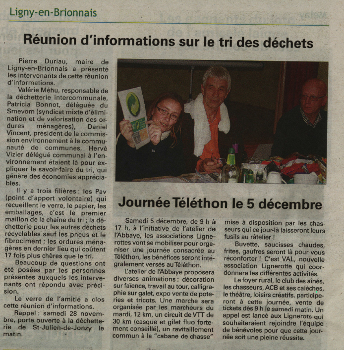 Article ligny 2015